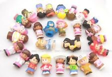 Hot Random different 10pcs Fisher Price Little People 2'' Figures Toys Dolls