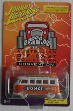 """Johnny White Lightning – VW Bus T1 Samba orange/weiß """"Bondi Beach"""" Neu/OVP"""