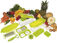Super Slicer Plus Vegetable Fruit Nicer Peeler Dicer Cutter Chopper Grate Grater