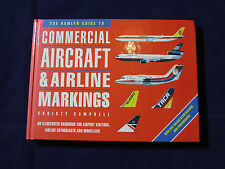 COMMERCIAL AIRCRAFT & AIRLINE MARKINGS CHRISTY CAMPBELL HAMLYN HARD BACK