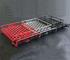 1:10 Scale Metal Roof Rack with LED Lighting for RC Crawler CC01 D90 SCX10 x1Set
