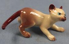 Katze Katzenfigur Porzellanfigur Hagen Renaker katze siamkatze porzellan figur 1
