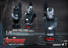 1/6 Avengers Age of Ultron War Machine Mark II Bust Hot Toys