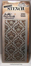 New! Gothic Design Layering Stencil - Stampers Anonymous Tim Holtz Collection