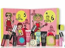 BENEFIT GIRL O`CLOCK ROCK MUSICAL ADVENT CALENDAR MAKE UP SAMPLE SET GENUINE