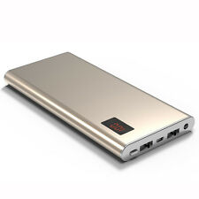 External LCD 50000mAh 2USB Power Bank LED Portable Battery Charger For Cellphone