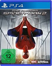 Ps4/SONY PLAYSTATION 4 gioco-The Amazing Spider-Man 2 (DE/EN) (con imballo originale)