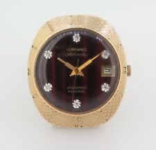 .RARE LONGINES WITTNAUER ADMIRAL GOLD FILLED GENTS RETRO AUTOMATIC WRISTWATCH