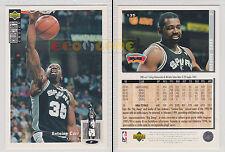NBA UPPER DECK 1994 COLLECTOR'S CHOICE - Antoine Carr #135 - Ita/Eng- MINT