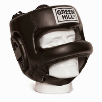 Greenhill Castle Head Guard Boxing Martial Arts Helmet Safety Face Protection