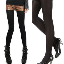Velvet Sexy Women's Ladies Black Thick Opaque Pantyhose Tights Stocking Lot New