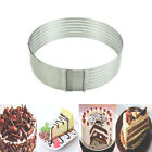 Round Shape 24-30cm Adjustable Scalable Mousse Ring Stainless Layered Cake Mold
