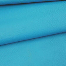 Bright Blue SYNTHETIC LEATHER  fabric for furniture, auto upholstery by metre