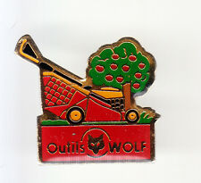 RARE PINS PIN'S .. AGRICULTURE OUTIL TOOL BTP TRACTEUR TONDEUSE WOLF ~BM