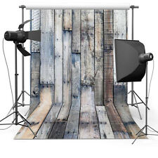 6x9ft Vinyl Photography Backdrop Wooden Floor Photo Background Studio Props