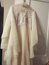 Christos for Bridal Couture Ivory Wedding Gown Vintage