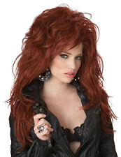 Punk Rock Star Jailbait Lindsey Lohan Adult Costume Wig