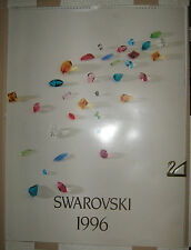 CALENDARIO SWAROVSKI 1996 Introvabile Photo Calendar Art limited
