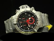 20153 Invicta 50mm Subaqua Noma III Swiss Quartz Chron Black Dial Bracelet Watch