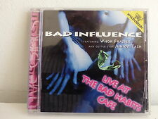 CD ALBUM BAD INFLUENCE Feat WHOP FRAZIER / Guitar star JUNIOR TASH 03152 BLUES