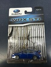Official Genuine Subaru 2015+ WRX STI 1/64 Die Cast Toy Car 202818 Blue New OEM
