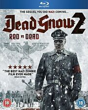 DEAD SNOW 2 Red vs. Dead BLURAY Horror in Inglese NEW .cp