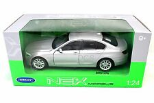 Welly BMW 535I Silver New In Box 1/24 Diecast Cars 24026