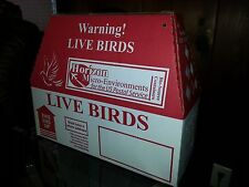 Horizon Shipping Boxes for Live Birds - Single Shippers - FREE Shipping