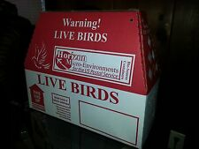 10 Pack Horizon Shipping Boxes for Live Birds.  Poultry, Pheasant, Chukar