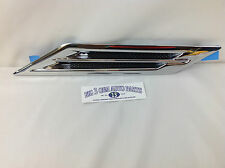 Cadillac CTS Chrome LH Side Front Fender Vent Port Ornament new OEM 20849249