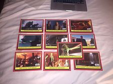 Star Wars Celebration Europe 2016 Topps 10 Trading Card Set Attack of the Clones