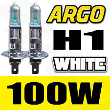 VW PASSAT 3B5 H1 100W XENON WHITE HID HIGH MAIN BEAM HEADLIGHT BULBS PAIR