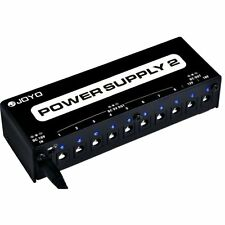 Joyo JP-02 9V 12V 18V DC Out Guitar & Bass Effects Pedal Pedalboard Power Supply