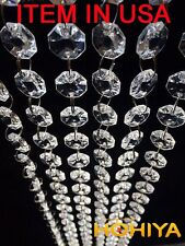 3M Acrylic Crystal Beads Garland Chandelier Hanging Wedding Party Home Decor