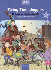 String Time Joggers Violin Flexible Ensemble Fiddle Music Book with CD