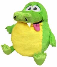 Tummy Stuffers Green Gator Plush Toy Stuffed Animal Playing Game Gift Fun Child