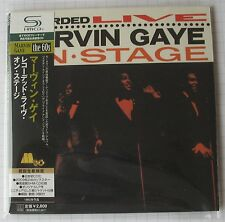 MARVIN GAYE - Recorded Live On Stage JAPAN SHM MINI LP CD NEU! UICY-94024