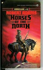 HORSES OF THE NORTH by Adams, rare US Signet heroic fantasy pulp vintage pb #13