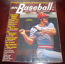 Street and Smith's Yearbook Baseball 1974 cover Pete Rose