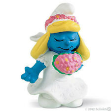 *NEW* SCHLEICH 20412 Favourites SMURF BRIDE - RETIRED Favorites Smurfette Smurfs