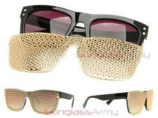 MILLIONAIRE GOLD GAGA Sunglasses womens mens celebrity hip hop flat top Designer