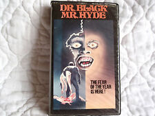 DR. BLACK MR. HYDE VHS BERNIE CASEY ROSALIND CASH 70'S HORROR UNITED CLAMSHELL