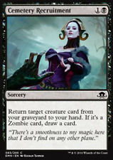 MTG 4x CEMETERY RECRUITMENT - RECLUTAMENTO NEL CIMITERO - EMN - MAGIC