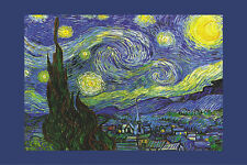 ART POSTER Nuit Etoilee a Saint-Remy Starry Night Vincent Van Gogh