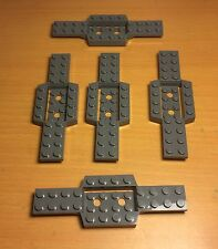 Lego X5 Vehicle Race Car Base 4x12x3/4 With 4x2 Recessed Center/Smooth Underside