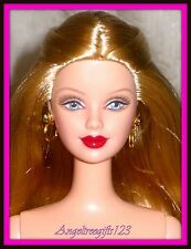 Nude Ferrari Barbie mackie sculpt long blonde hair perfect for ooak