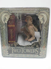DVD Lord of the Rings:Two Towers 5-Disc (Extended SE) w/ Gollum Statue NEW LOTR