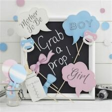 Baby Shower Photo Booth sostegni SIGNORINA o Mini Mister Baby Shower giochi idee