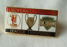 pin badge 1999-2000 UEFA Champions League football FC SK Sturm Graz Austria rare