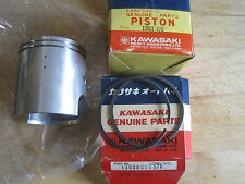 KAWASAKI NOS PISTON & RINGS KX250 1974  STD SIZE 13001-070  13008-051